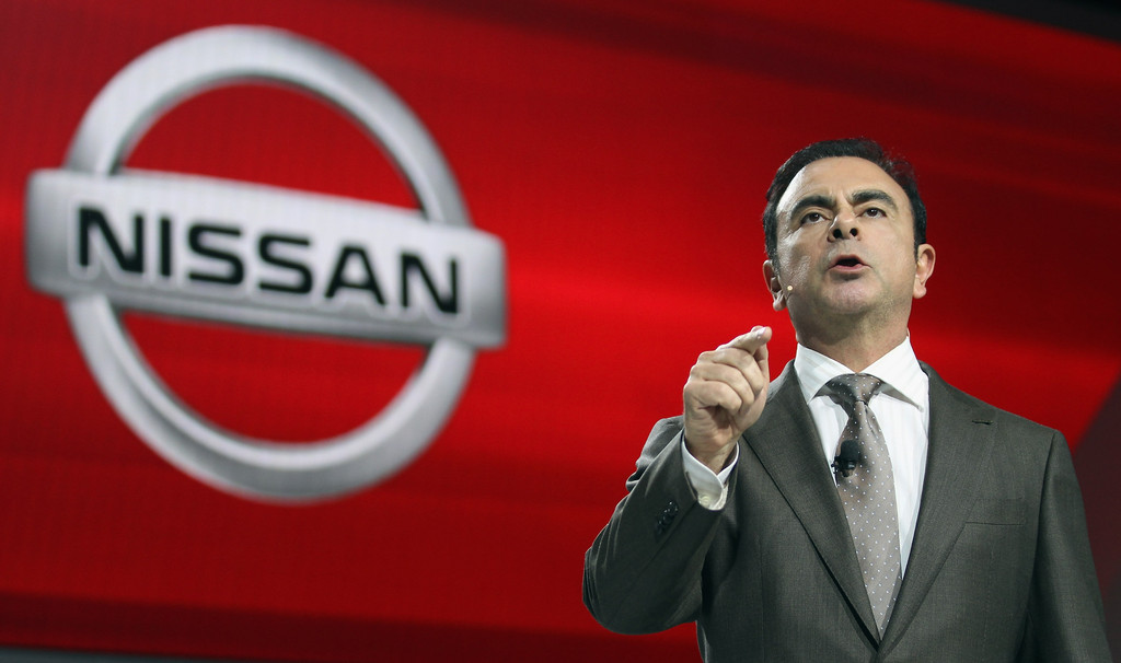 Carlos Ghosn Leader of Nissan and Renault